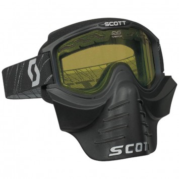 Очки Scott 83X SAFARI FaceMask, black clear/black yellow - LadaSportLine - Все для автоспорта и тюнинга